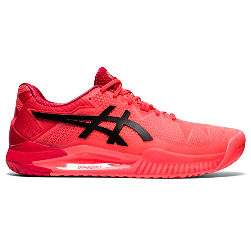 ASICS Gel-Resolution 8 Tokyo, Zapatillas de Tenis Hombre, Rouge Vif Noir, 47 EU