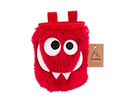 Crafty Climbing - Tangerine Foodie Monster (Chalkbag), Modell:Cherry Foodie Monster