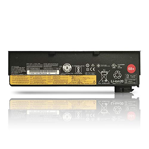 K KYUER High Capacity 72Wh 68+ 0C52862 0C52861 Laptop Battery for Lenovo ThinkPad T440 T440s T450 T450s T460 T460p T470p T550 T560 X240 X250 X260 X270 W550 W550s L450 L460 L470 P50s 45N1126 45N1127