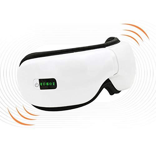 Elektrisch oogmassageapparaat voor het onderhoud van de printer met muziek en Bluetooth, opvouwbaar, verwarming, therapie, verlichting van vermoeidheid, warmtecompressor van de glazen.