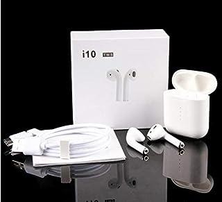 9b41196777f i10 TWS Auriculares Inalámbricos Bluetooth 5.0 con micrófono Integrado +  Caja de Carga Incluido, para