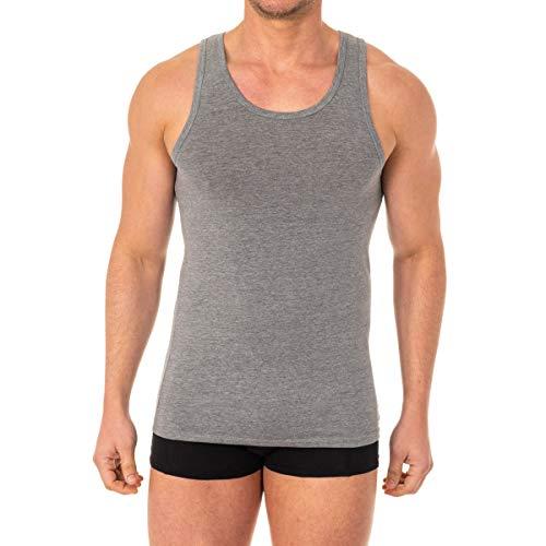 Abanderado Camiseta de Tirantes termorreguladora X-Temp, Gris (Gris Vigoré 1AM), XX-Large (Tamaño del Fabricante:XXL/60) para Hombre