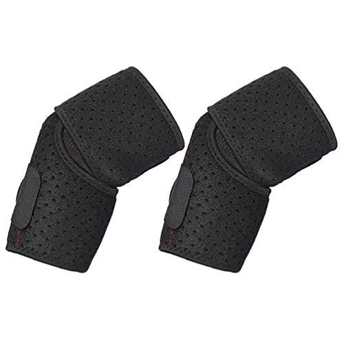VALICLUD Ellenbogen Unterstützung Einstellbar Verstellbare Atmungsaktiv unterstützung hülse Sport Armbandage der Ellenbogen beim Volleyball Fitness zur Entlastung bei Sport für Herren Damen