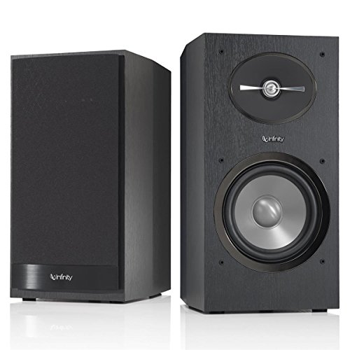 Infinity R162 | Black 2–Way Bookshelf Speakers (Pr.)