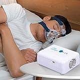 *KKTECT Mini *CPAP *Cleaner Desinfecció de l'aire Mini netejador portàtil *CPAP Desinfectant de tubs d'aire *CPAP net per a màquina *CPAP, tub, màscara amb bossa desinfectant i adaptadors (M2)