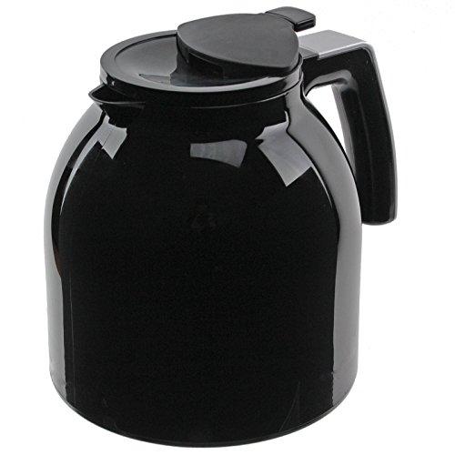 Genuine Melitta Look Therm DeLuxe Thermal Coffee Machine Filter Jug (Black) by Melitta