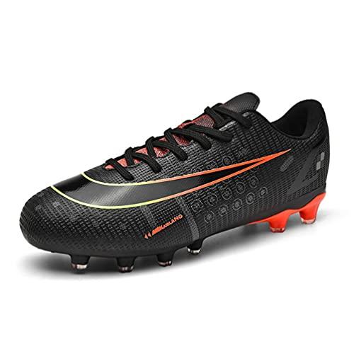 IFIKK Calzado de Fútbol para Hombre Zapatillas de Fútbol Deporte Niño Spike Profesionales Atletismo Botas de Fútbol Antideslizante y Resistente al Desgaste Tacos Fútbol Zapatos (Estilo 9, 40)