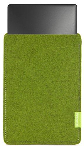 WildTech - Funda para Lenovo Yoga Book (10,1', fieltro de lana, 17 colores, hecha a mano en Alemania)