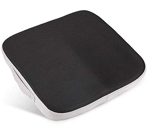 Lawei Large Memory Foam Seat Cushion/Chair Pad with Carry Handle Perfect for Office Chair and Wheelchair