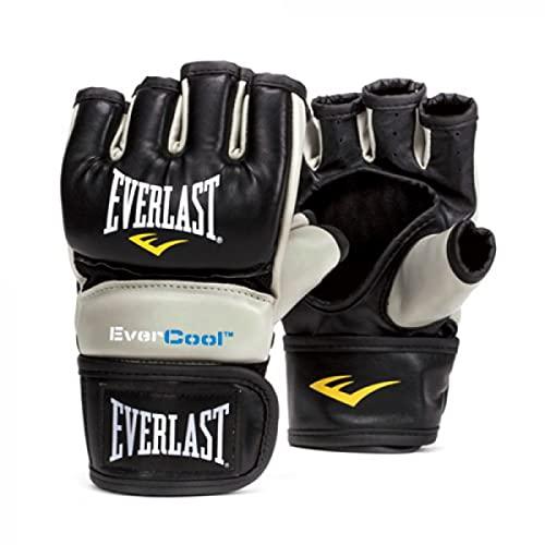 Everlast Everstrike Guanti da allenamento, Donna, nero/grigio, L-XL