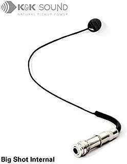 K&K Sound Big Shot Internal Guitar/Instrument Pickup with Endpin Jack