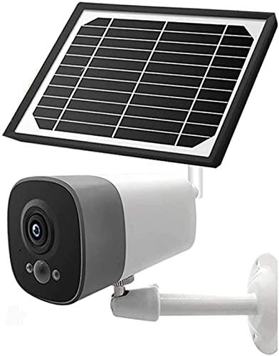 HLSH Outdoor Solar-überwachungskamera 1080p Wi-fi Home-überwachungskamera wasserdichte Kugel-Kamera Mit Ir-nachtsicht-bewegungserkennung 2-Wege-Audio-fernbedienungsmonitor