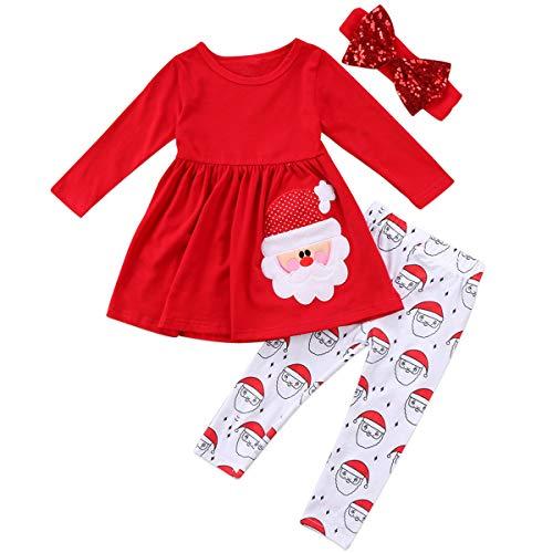Conjunto de ropa de niña para niños pequeños con falda y diadema - rojo - 12-24 meses
