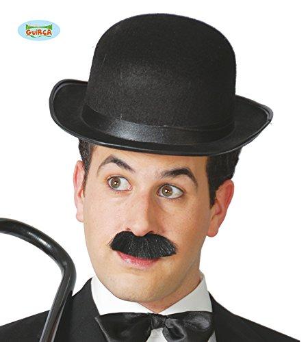 Guirca - Bombe chapeau Lord Anglais homme, noir, adulte
