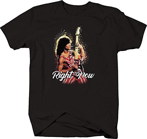 Unisex Eddie Van Halen Lives Forever Right Now T-shirt, S to 6XL