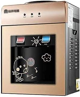 Dispensador de Agua Dispensador de Agua de Acero Inoxidable Liner encimera Refrigerador de Agua W/Agua fría y Caliente de 5 galones de Carga Superior 603 (Color : Gold, Size : Hot)