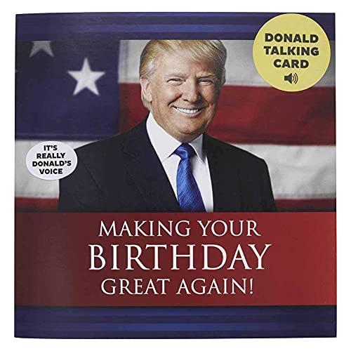 Talking Trump Birthday Card - Wishe…