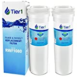 Tier1 Refrigerator Water Filter Replacement for Fisher & Paykel 836848, 836860 - with Activated Carbon Media to Reduce Chlorine while Improving Water Taste - 2 Pack