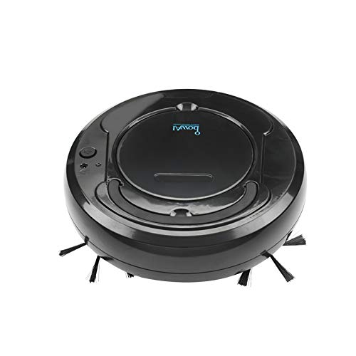 Best Buy! Sweeping Robot Lazy Sweeping Drag Home Smart Sweeping Vacuum Cleaner Black
