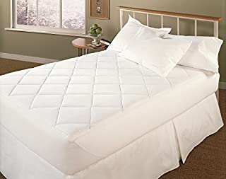 Sleep Solutions Quilted Mattress Pad, Twin