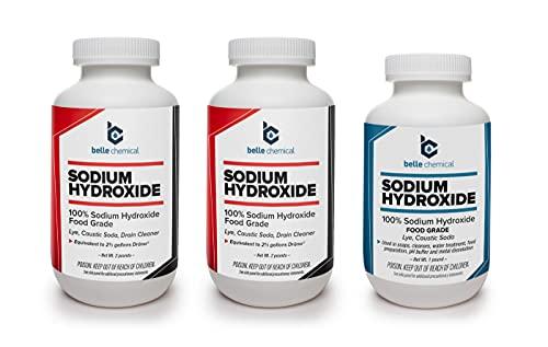 Sodium Hydroxide - Pure - Food Grade (Lye, Caustic Soda) (5 Pounds)