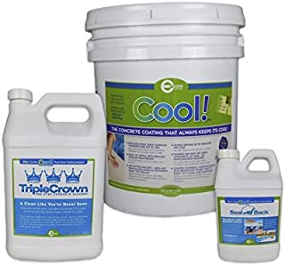 Cool Pool Deck Coating - 200 sq. ft. Bundle Pack