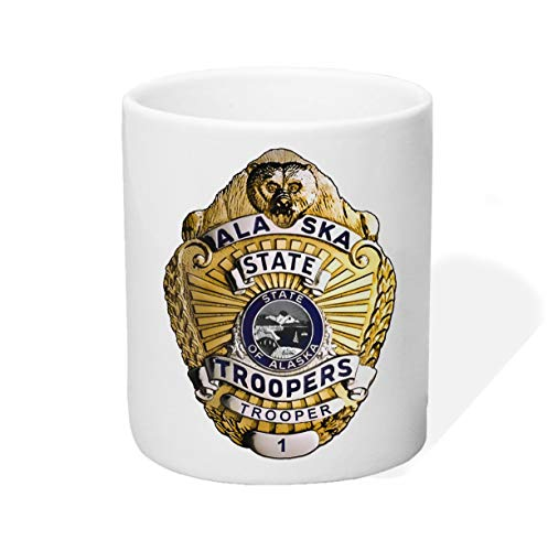 P-T-D Alaska State Troopers Tasse Kaffeetasse Kaffeebecher