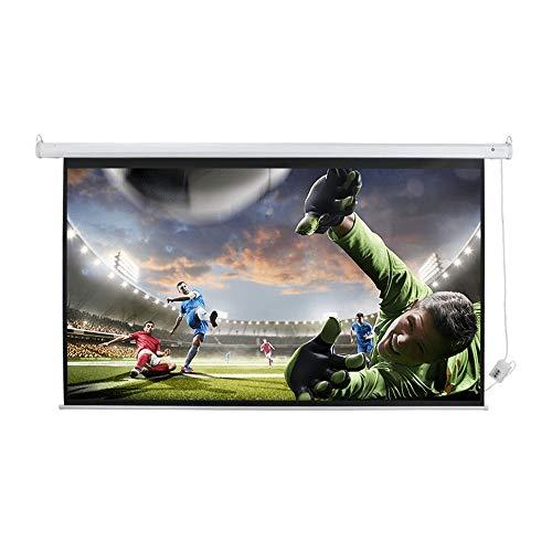 "Homegear 120"" 16:9 HD/3D Electric Motorised Projector Screen + Remote Control"