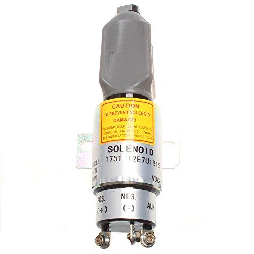 Holdwell carburant Arrêt solénoïde pour moteur de Woodward 12 V