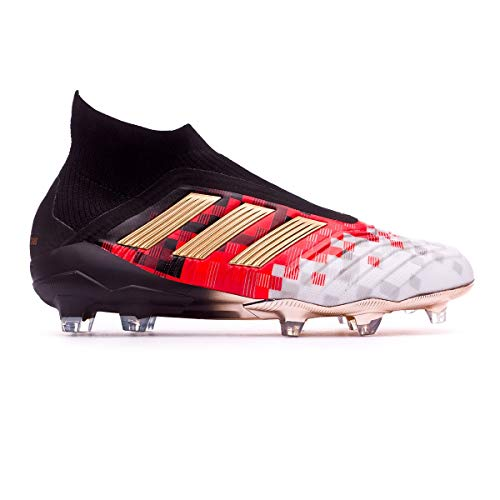 adidas Telstar Predator 18+ FG, Zapatillas de Fútbol Hombre, Negro (Cblack/Copper/Chsogr Cblack/Copper/Chsogr), 43 1/3 EU
