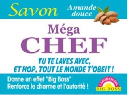 tonnerre Lot DE 3 Savons Humoristique Mega Chef