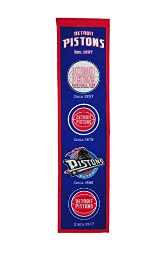 NBA Detroit Pistons Heritage Banner