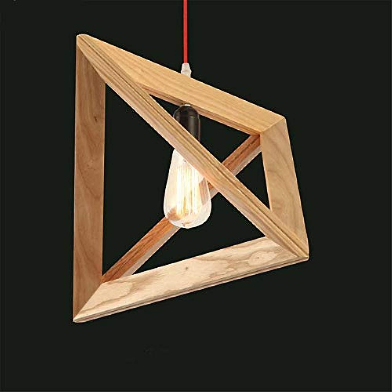 E27 Moderne Einfache Geometrie Massivholz Hngen Lampen Pendelleuchten Led-leuchten Für Home Nordic Pendelleuchten Pendelleuchten 110 V-220 V 30 CM