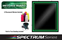 Green Light LED Message Writing Board with 8 Border Color Options 23L x 27W [並行輸入品]