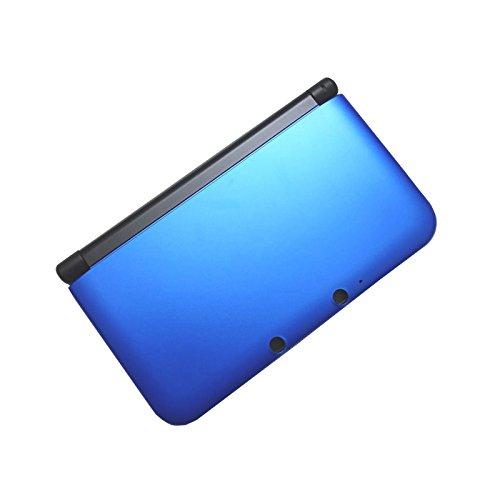 OSTENT Full Housing Case Cover Ersatz kompatibel für Nintendo 3DS XL 3DS LL - Farbe Blau