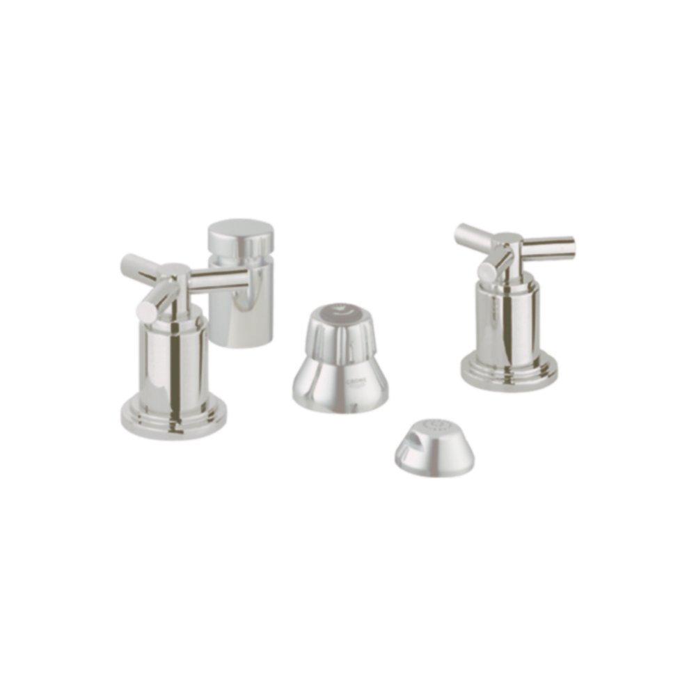 Grohe K24016-18026-EN0 Atrio Bidet Fitting Kit, Brushed Nickel