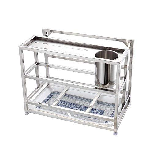 W-SHTAO L-WSWS Tabla de Cortar/Palillos/Enganche Piso de la Cocina Tamaño del Rack: 33 * 18.5 * 24.5cm