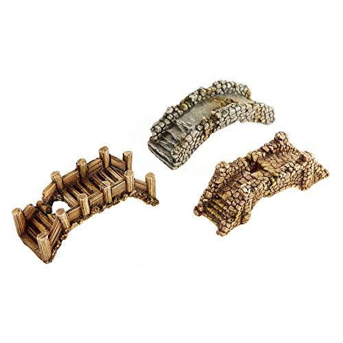 Classic Pet Products Assortiment de Mini ponts décoratifs pour Aquarium