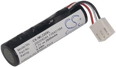 Replacement Battery for Ingenico Iwe280, IWL220, iWL250 Bluetooth, iWL250 GPRS, iWL251, iWL251 NFC, iWL252, iWL255, iWL280, Move 2500 295006044, 296110884, F26401964, F26402274, L01J44006, L01J44007