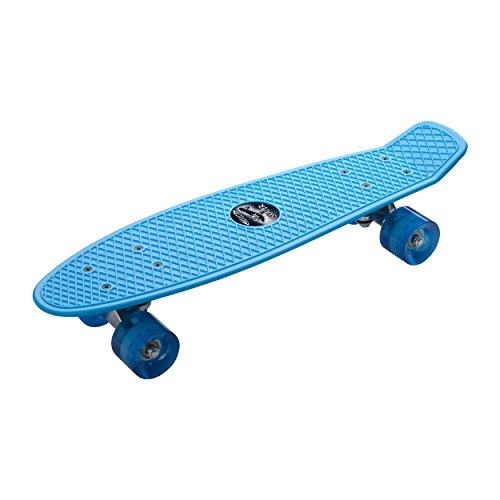 REFLECTS-Fun Skater Skateboard Farbe blau