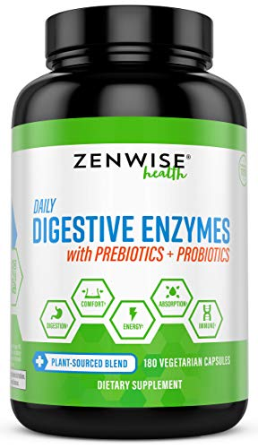Digestive Enzymes With Prebiotics & Probiotics