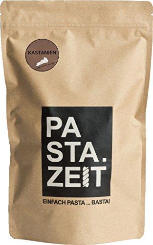 Pastazeit Bio Kastanien Campanelle, Proteinreich, Handgemachte Nudeln, Vegan, Weizenfrei (3x250g)
