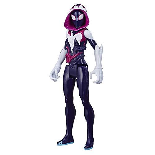Hasbro Spider-Man Maximum Venom Titan Hero Ghost-Spider Action-Figur, inspiriert durch das Marvel Universe, Blast Gear-kompatibler Rücken-Port, ab 4 Jahren
