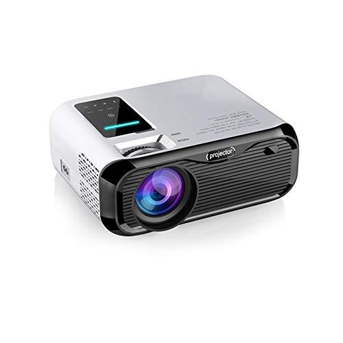 Proyector mini proyector de vídeo 1080P Full HD compatible con entretenimiento al aire libre HD para cine en casa y película al aire...