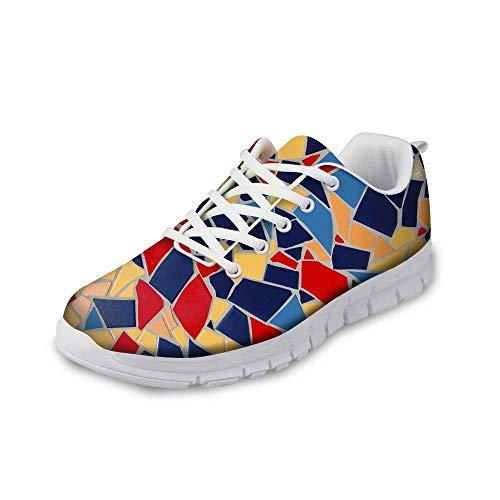 MODEGA Bunte Turnschuhe Schuhe Männer Turnschuhe für Jungen Schuhe für Frauen Plus Größe Bowlingschuhe Jugend Laufschuh Männer heiße Schokolade Design Schuhe Frauen Joggen Größe 45 EU|9.5 UK