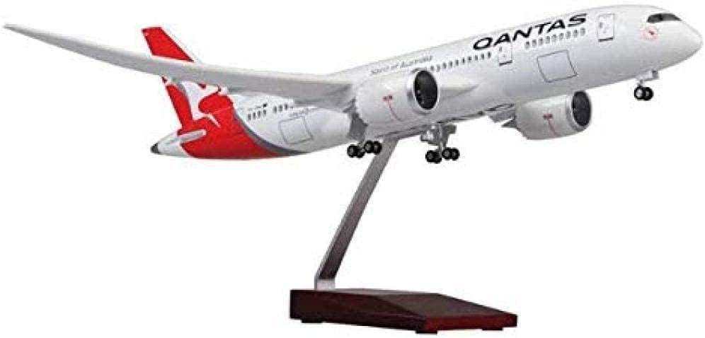 N-Y with Wheels and Lights All items free shipping 1:1:130 Aviation Boeing 787 Pa Qantas Inventory cleanup selling sale