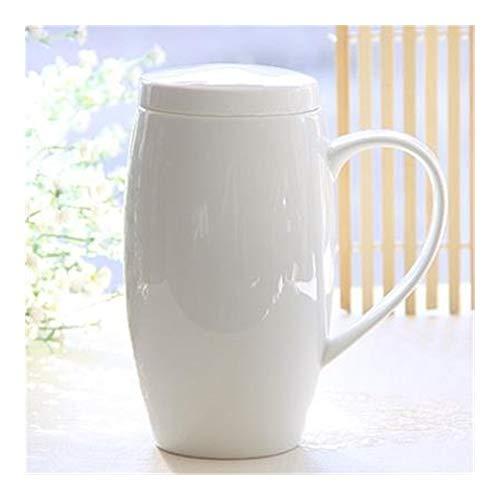 720ml, llano de porcelana blanca, tapas termo taza de té fuerte con tapa, jarra de cerveza, vientre diseñado divertido