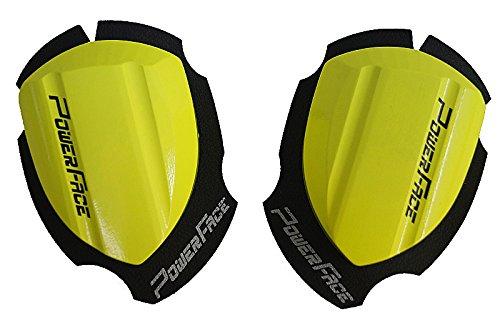 Power Face Holzknieschleifer - Race Neongelb