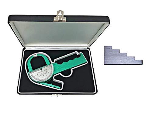 Plicometro Lange con Calibrador 5-Incrementos, Estuche con Compartimiento y Manual de Instrucciones...