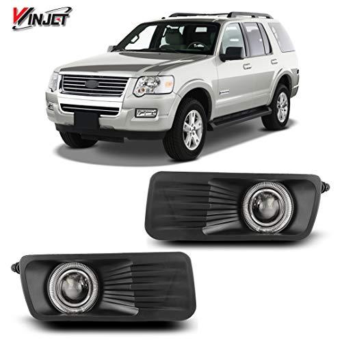 Winjet Performance Series for [2006 2007 2008 2009 2010 Ford covid 19 (Mercury Mountaineer Fog Lamp coronavirus)